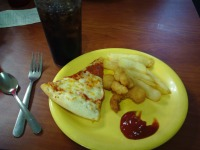 More Pizza and Fries