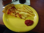 Pizza and Fries