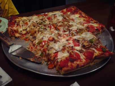 Pizza From Rocky's Pizza