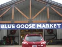 Blue Goose Market Entrance
