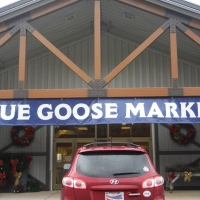 Blue Goose Market Entrance
