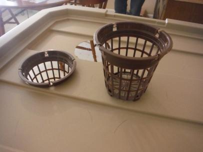 Tiny Laundry Baskets