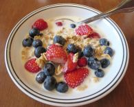 My Cereal with Fresh Berries
