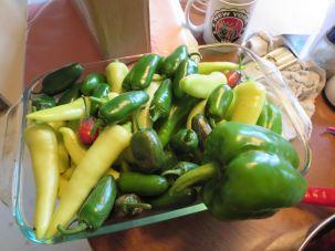 Banana and Jalapeno Peppers