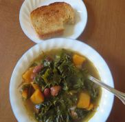 Soup and Bread for Lunch